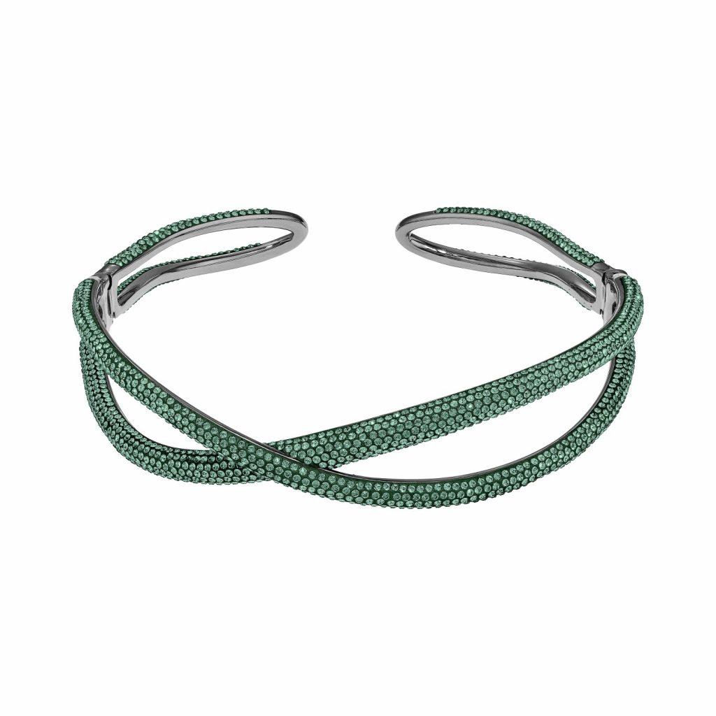 Tigris Choker – Emerald Green by Atelier Swarovski