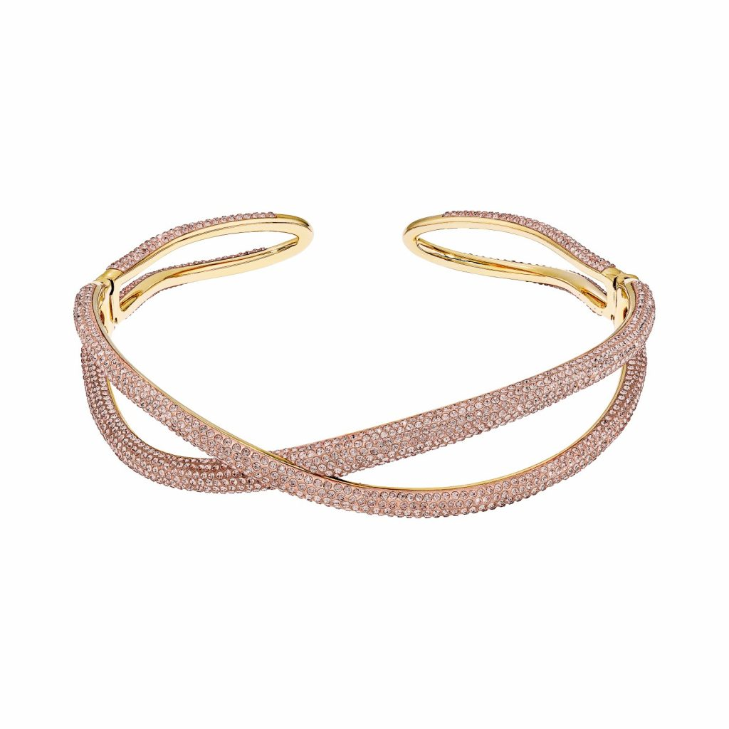 Tigris Choker – Light Peach by Atelier Swarovski