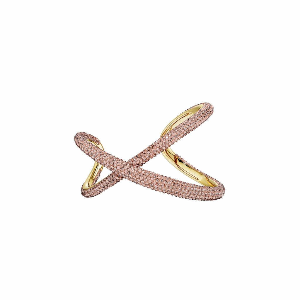 Tigris Cuff – Light Peach by Atelier Swarovski