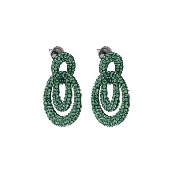Tigris Drop Earrings – Emerald Green by Atelier Swarovski