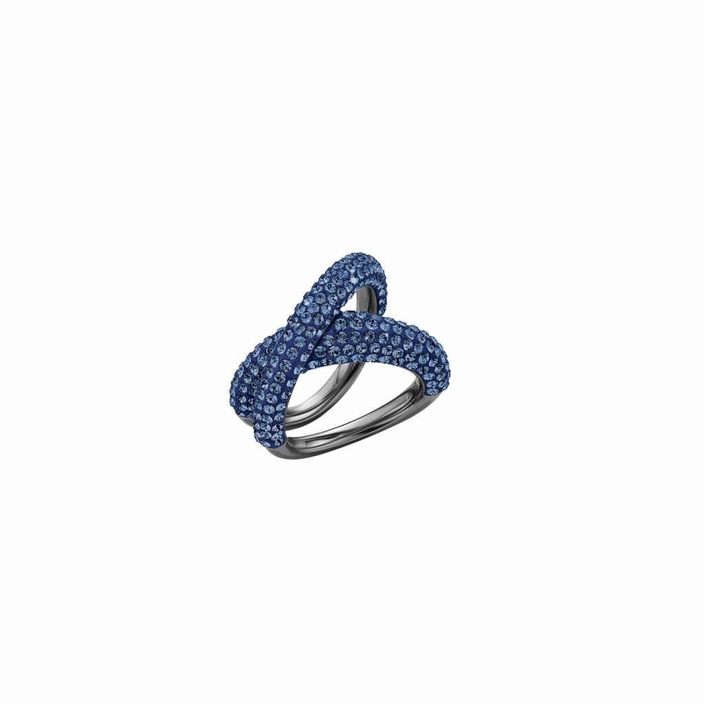 Tigris Simple Ring – Sapphire Blue by Atelier Swarovski