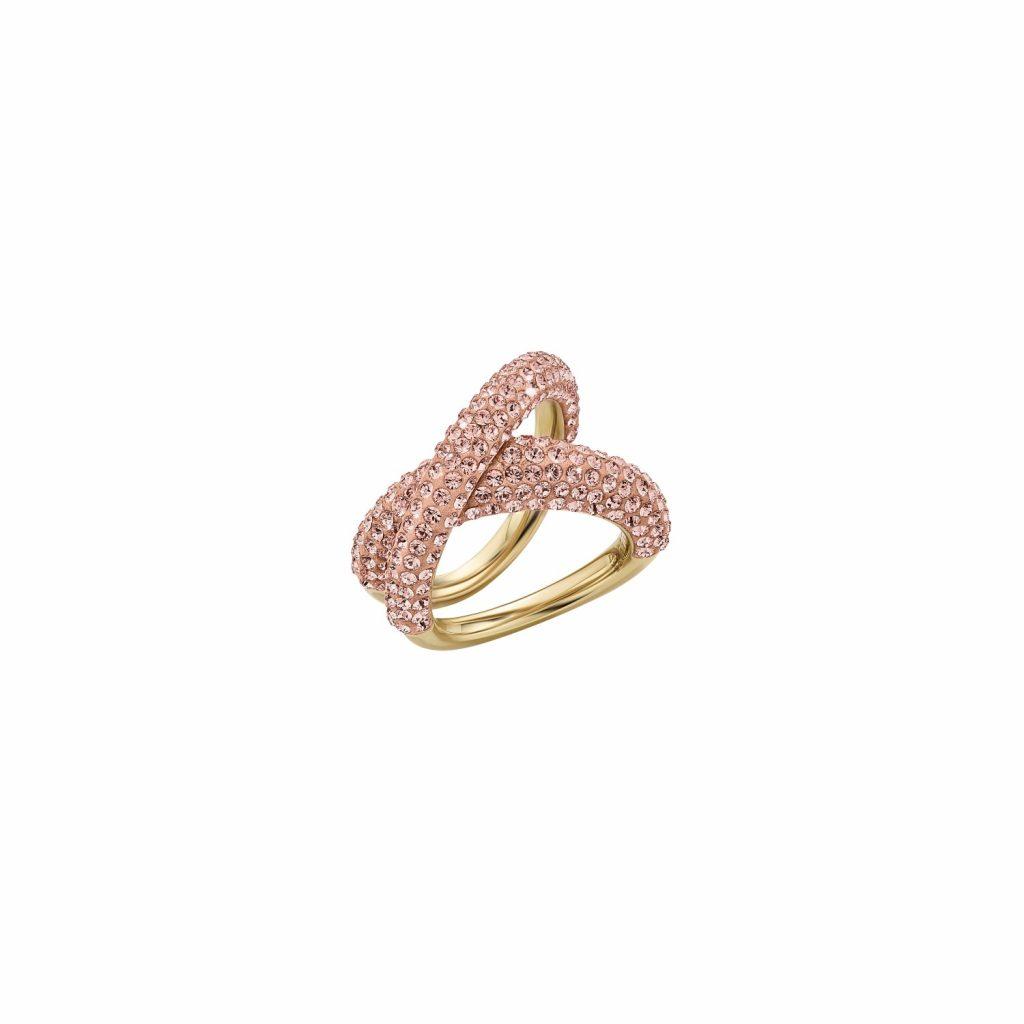 Tigris Simple Ring – Light Peach by Atelier Swarovski