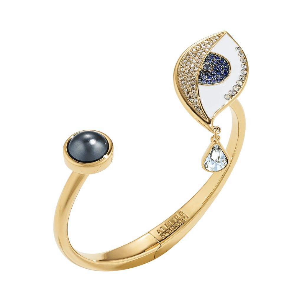Surreal Dream Eye Cuff by Atelier Swarovski