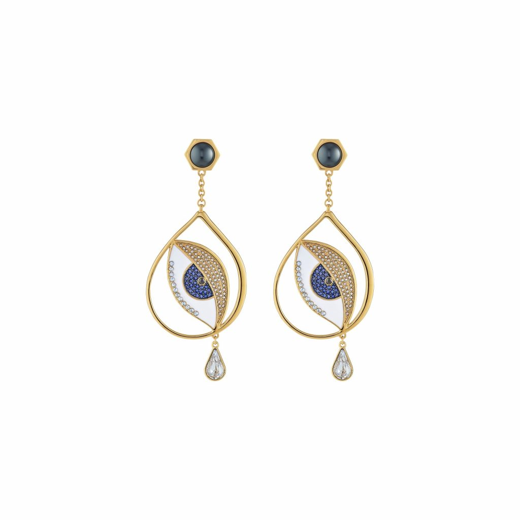 Surreal Dream Eye Drop Earrings by Atelier Swarovski