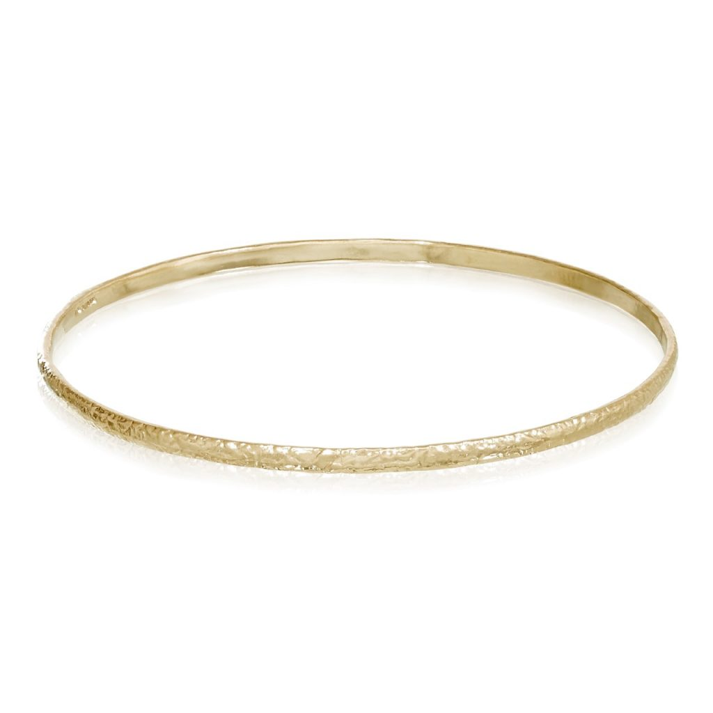 I Gold Bangle by Ellis Mhairi Cameron