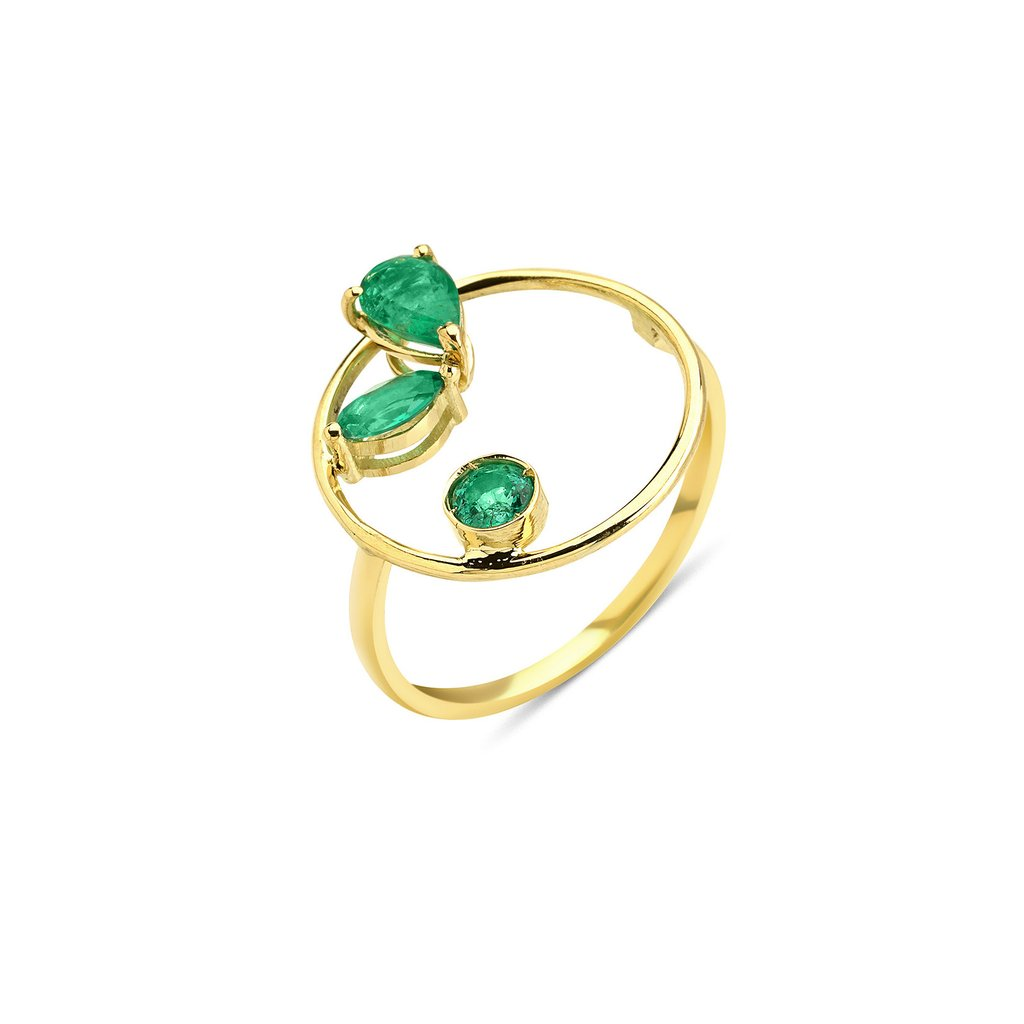 Project 2020 Emerald Ring by GFG Jewellery