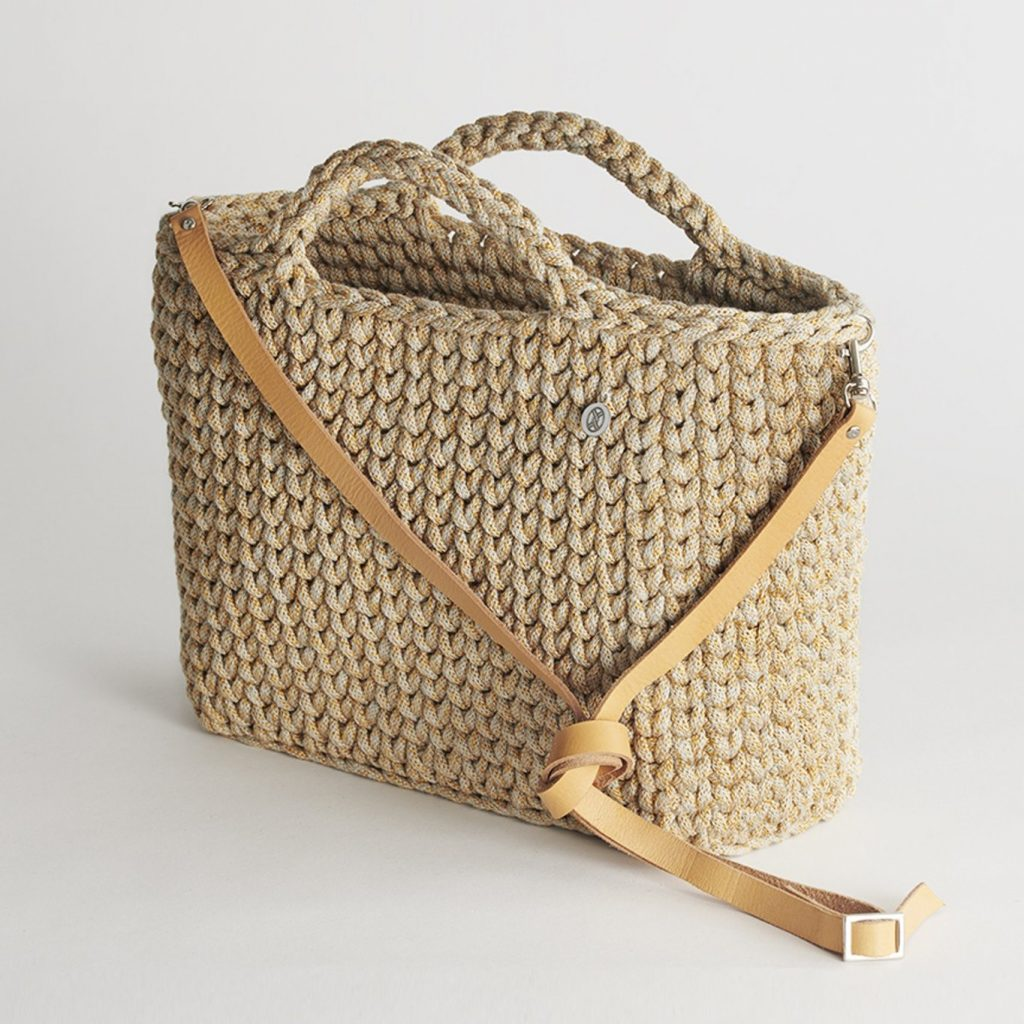 Handmade Basket Bag – Straw by Iota
