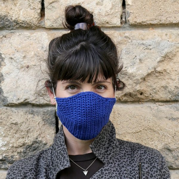 DIY Mask Kit – Royal Blue by Iota