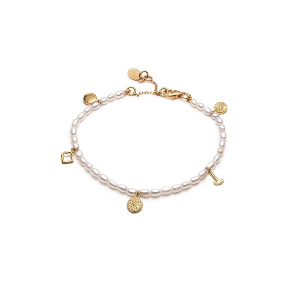 Prosperity Pearl Bracelet by With Love Darling