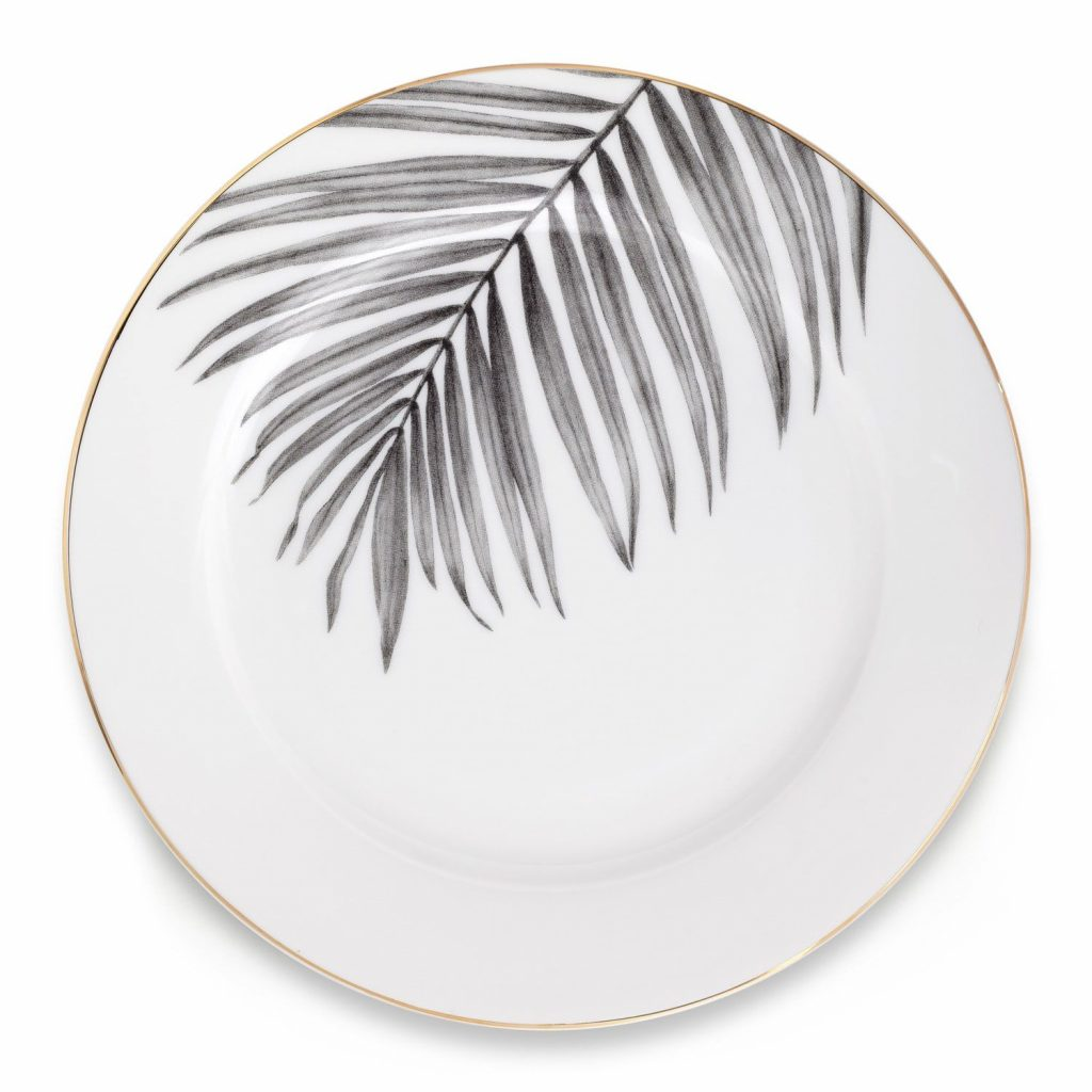 Under The Palm Side Plate by Sasha Tugolukova