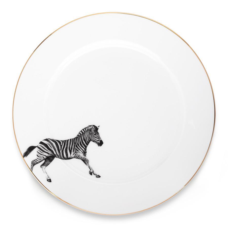Zebra Side Plate by Sasha Tugolukova