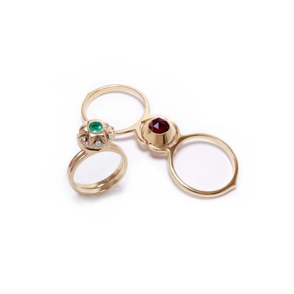 Infinity Love Ring Ornate by Mocielli