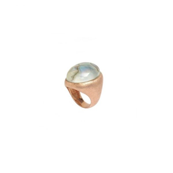 Ajei Abalone Orb Ring by NIIN