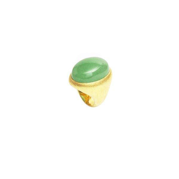 Yin Midori Orb Ring by NIIN