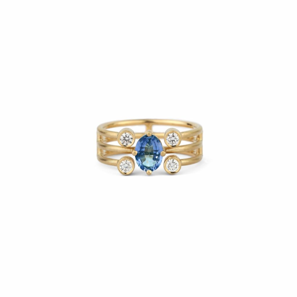 Dawn Penta Ring by Shimell & Madden