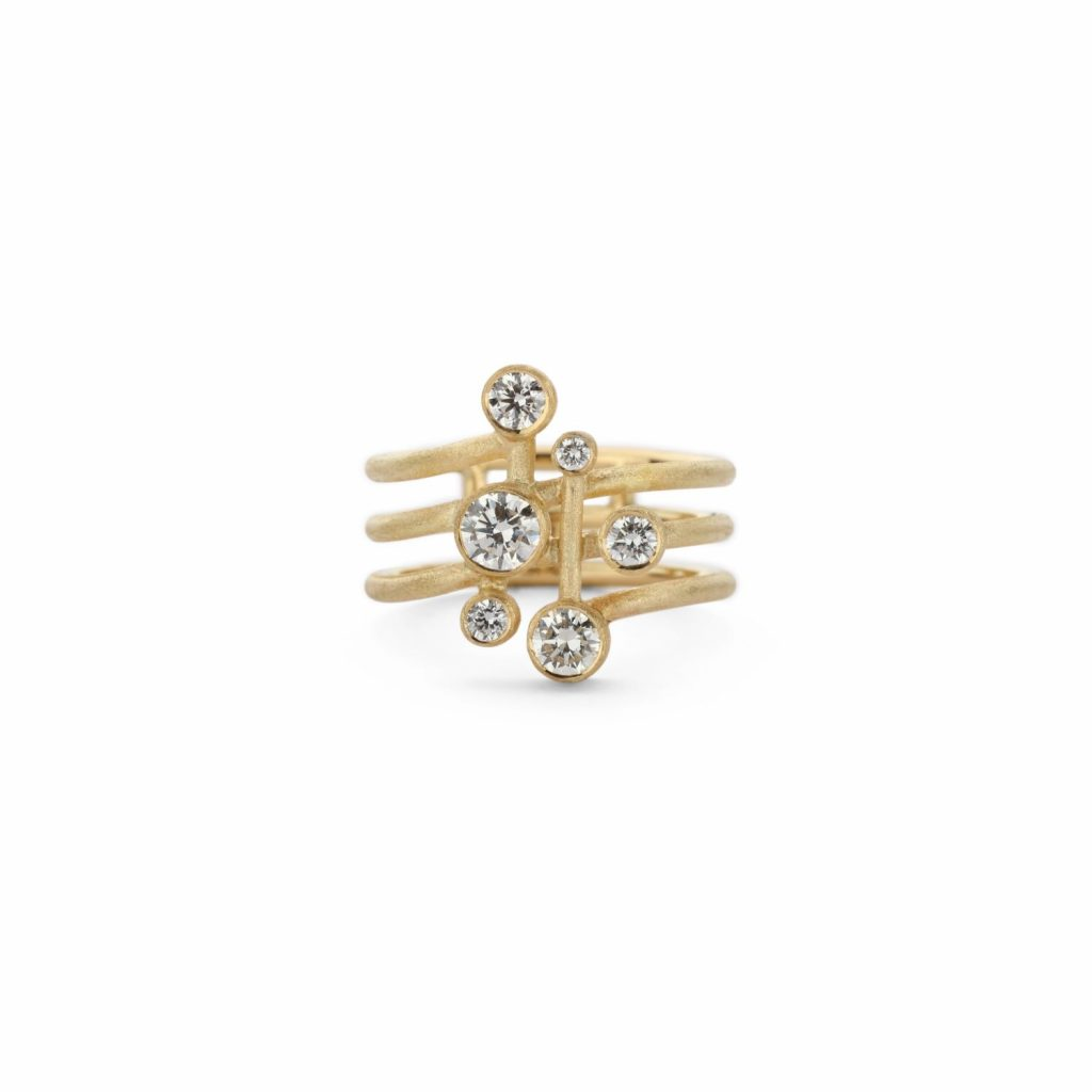 Digamma Ring by Shimell & Madden