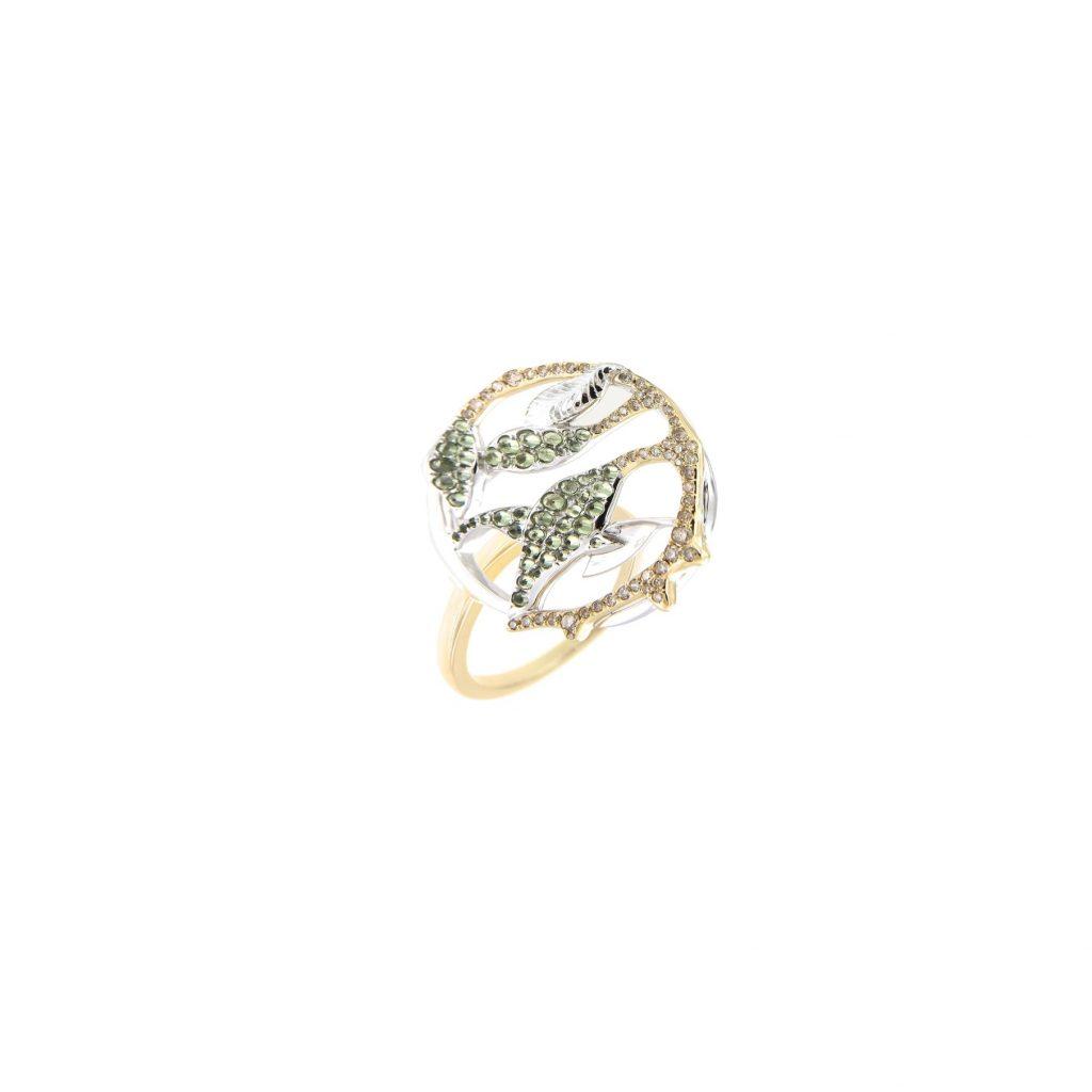 Gaia Fine Banyan Ring by NIIN