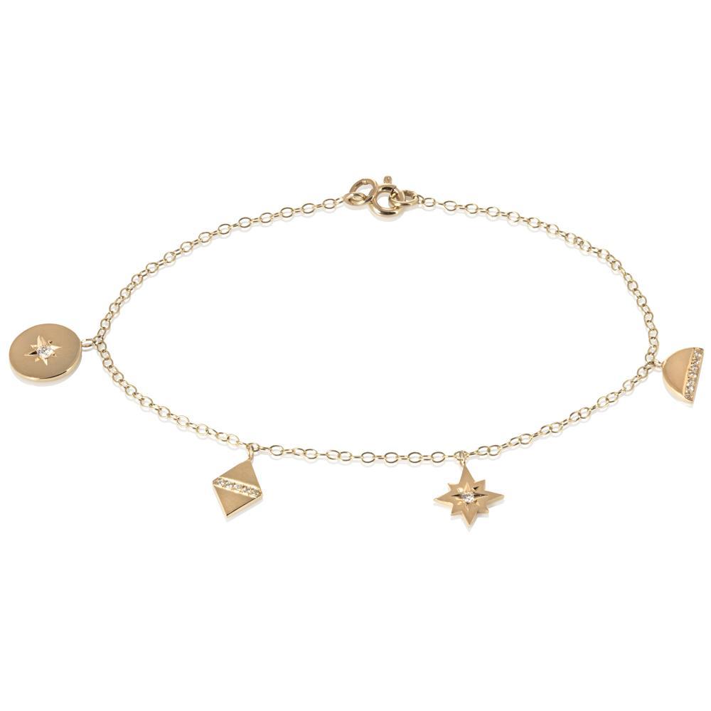Universe Charm Bracelet by Ellie Air