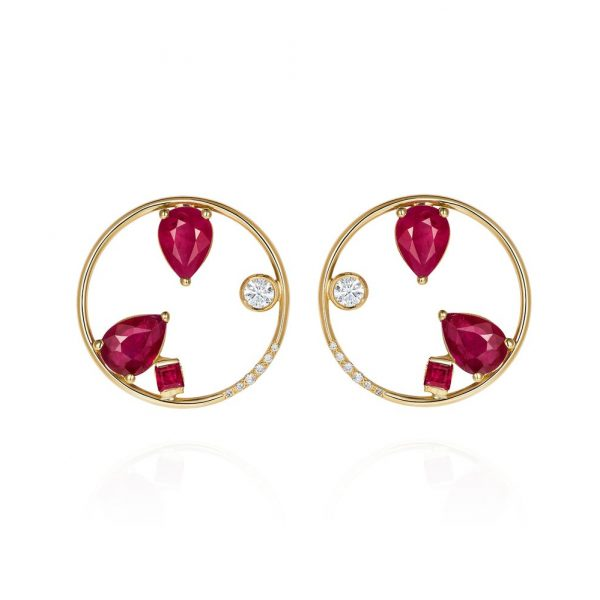 Project 2020 – Ruby Earrings by GFG Jewellery