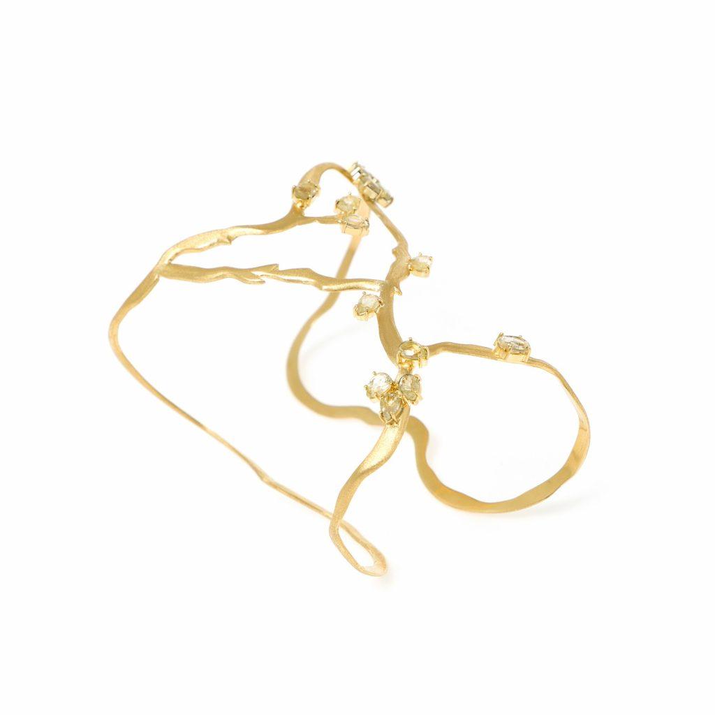 Van Gogh's Almond Bracelet by Larissa Moraes