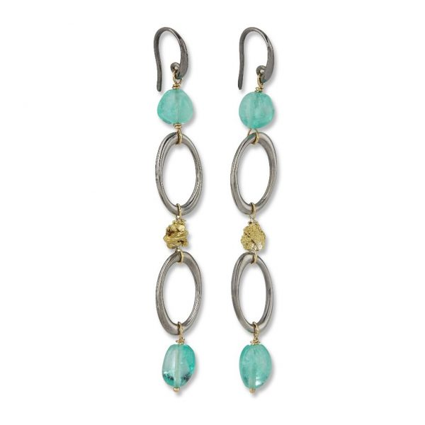Sira Chain Earrings by Makal