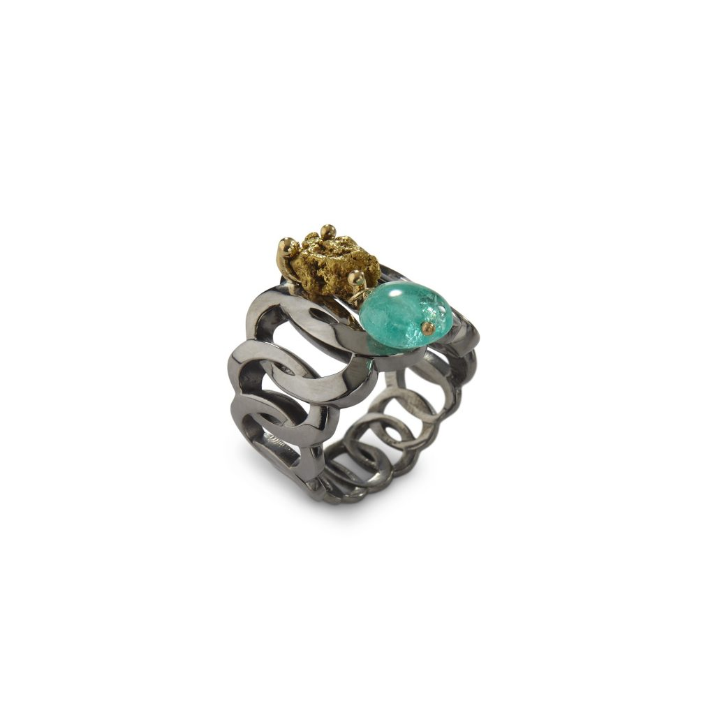 Sira Chain Ring by Makal