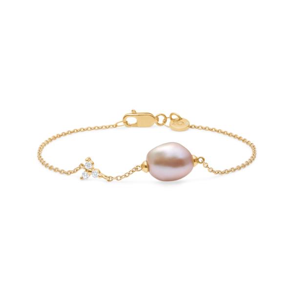 Fryd Diamond Pearl Bracelet by Ro Copenhagen