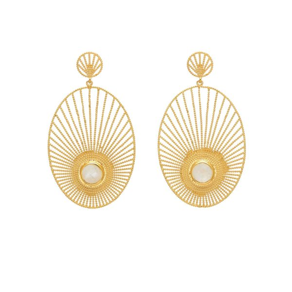Moonlight Statement Earrings by Assya