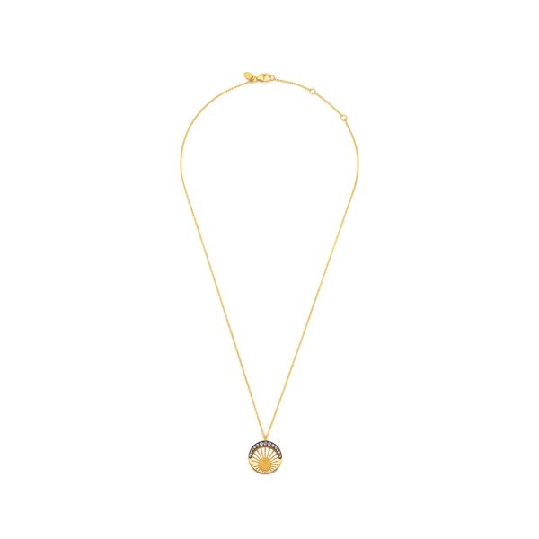 Moonlight Pendant Gold and Tanzanite by Assya