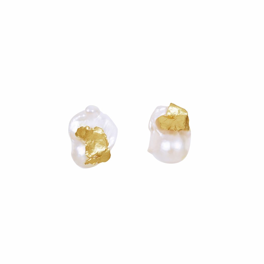 Cordelia Pearl Stud Earrings by Deborah Blyth