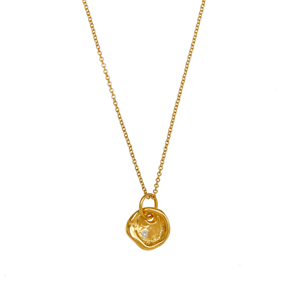 Kiki Sapphire Necklace by Deborah Blyth