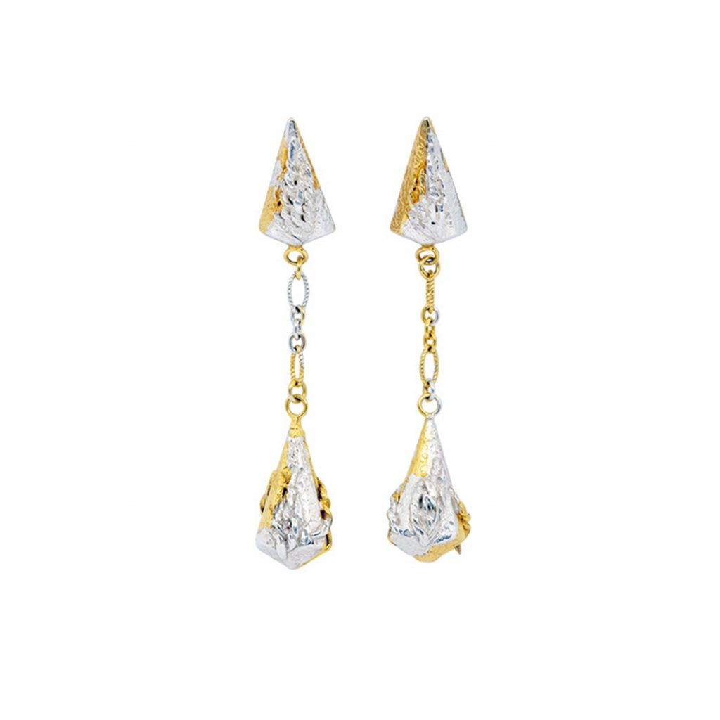 Lantern Earrings with Vermeil by KAB Jewellery