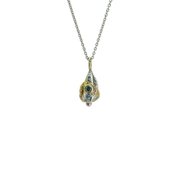 Micro Lantern Necklace by KAB Jewellery