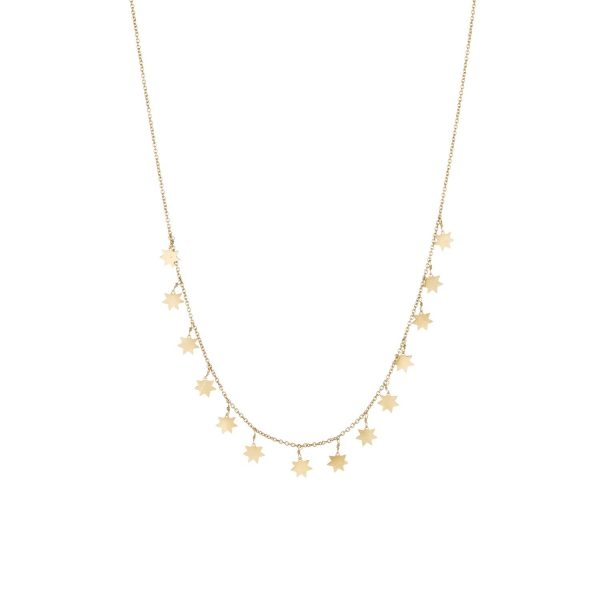 Star Garland Necklace by Sophie Theakston