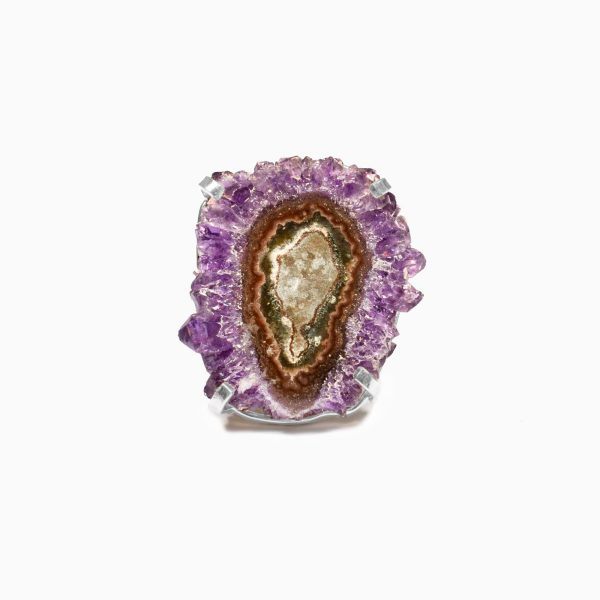 Celestial Soul Amethyst Stalactite Ring by Tiana Jewel