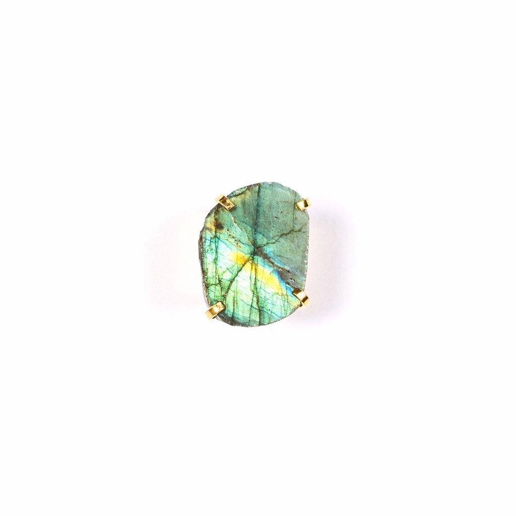 Spirit of Heart Labradorite Gemstone Ring by Tiana Jewel