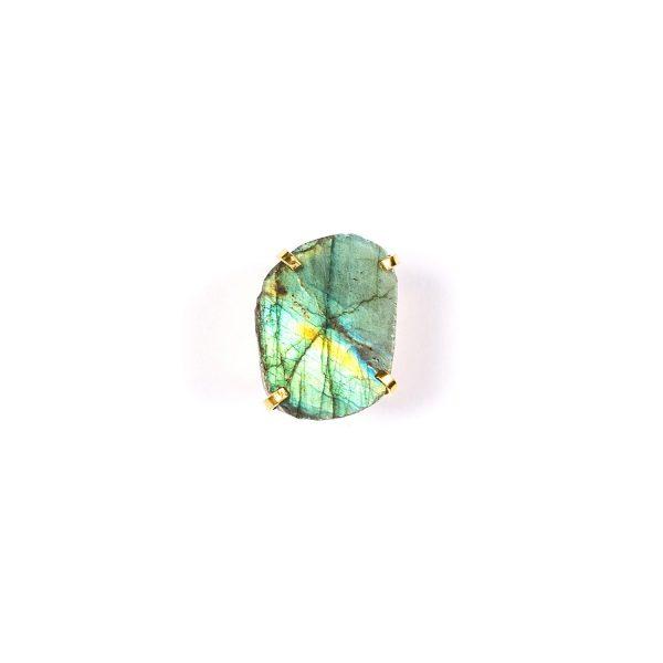 Spirit of Heart Labradorite Gemstone Ring by Tiana Jewel