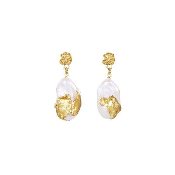 Cordelia Pearl Drop Earrings by Deborah Blyth