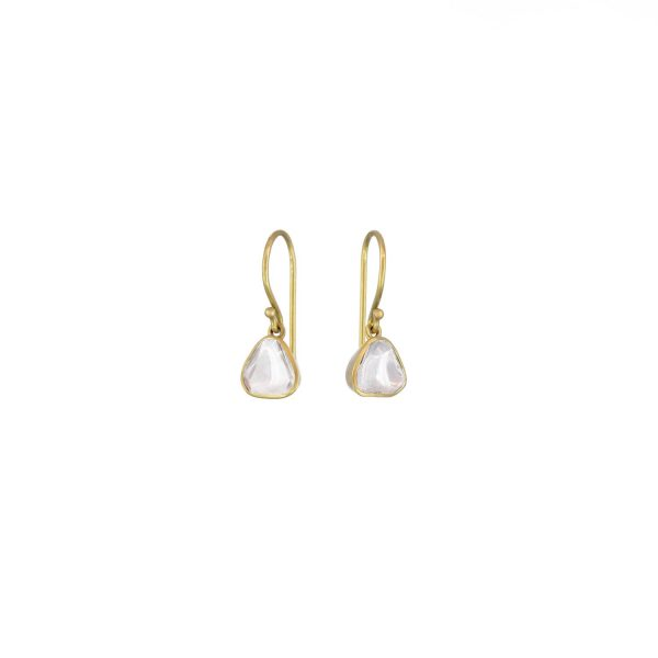 Polki Drop Earrings by Sophie Theakston
