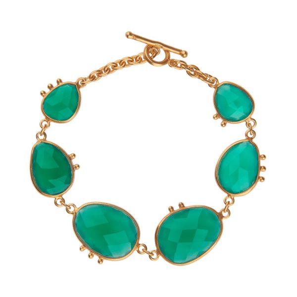 Amazonia Green Onyx Bracelet by Donatella Balsamo