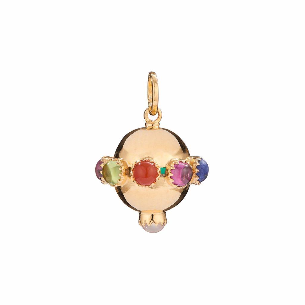 Jaipur Globe Necklace by Donatella Balsamo