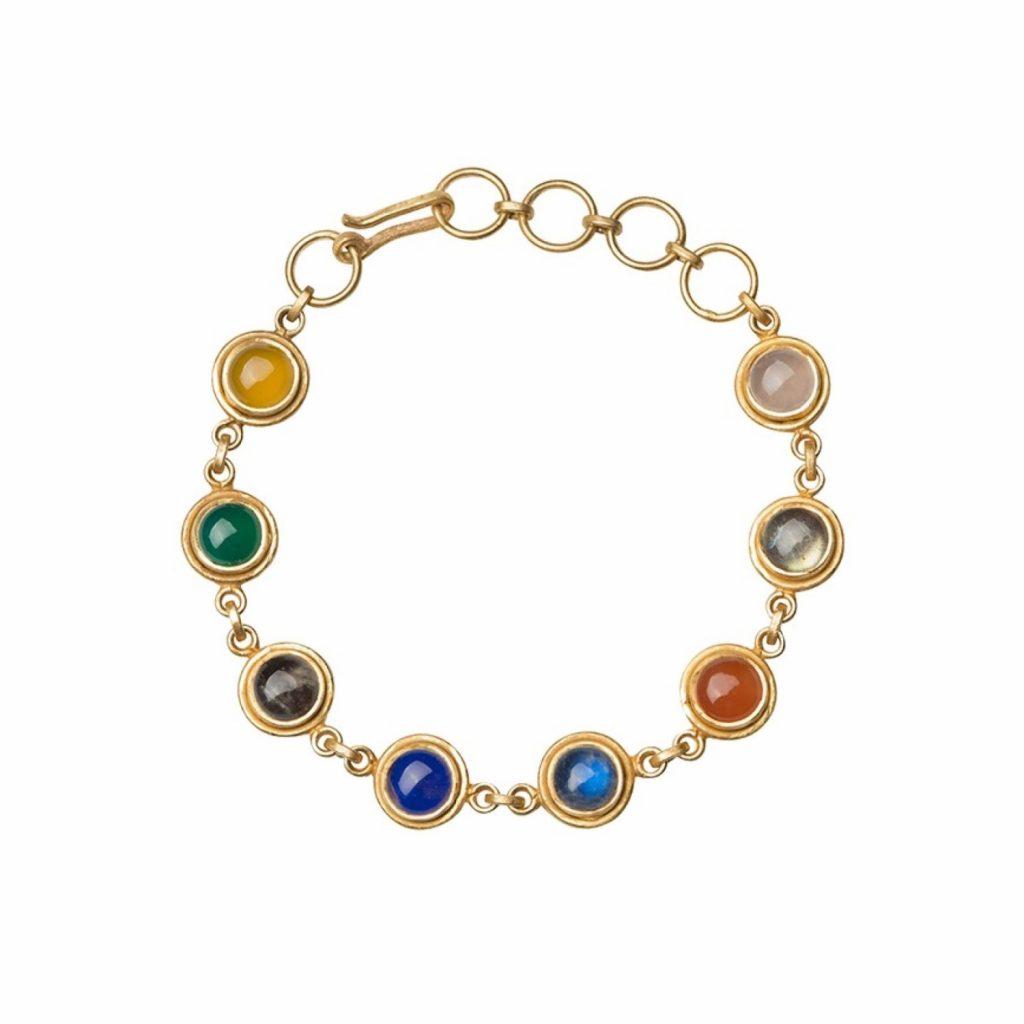 Jaipur Rocky Road Bracelet by Donatella Balsamo
