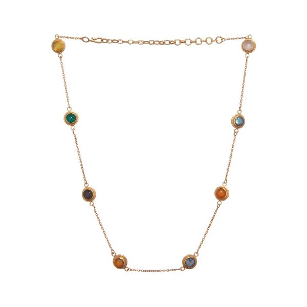 Jaipur Rocky Road Necklace by Donatella Balsamo