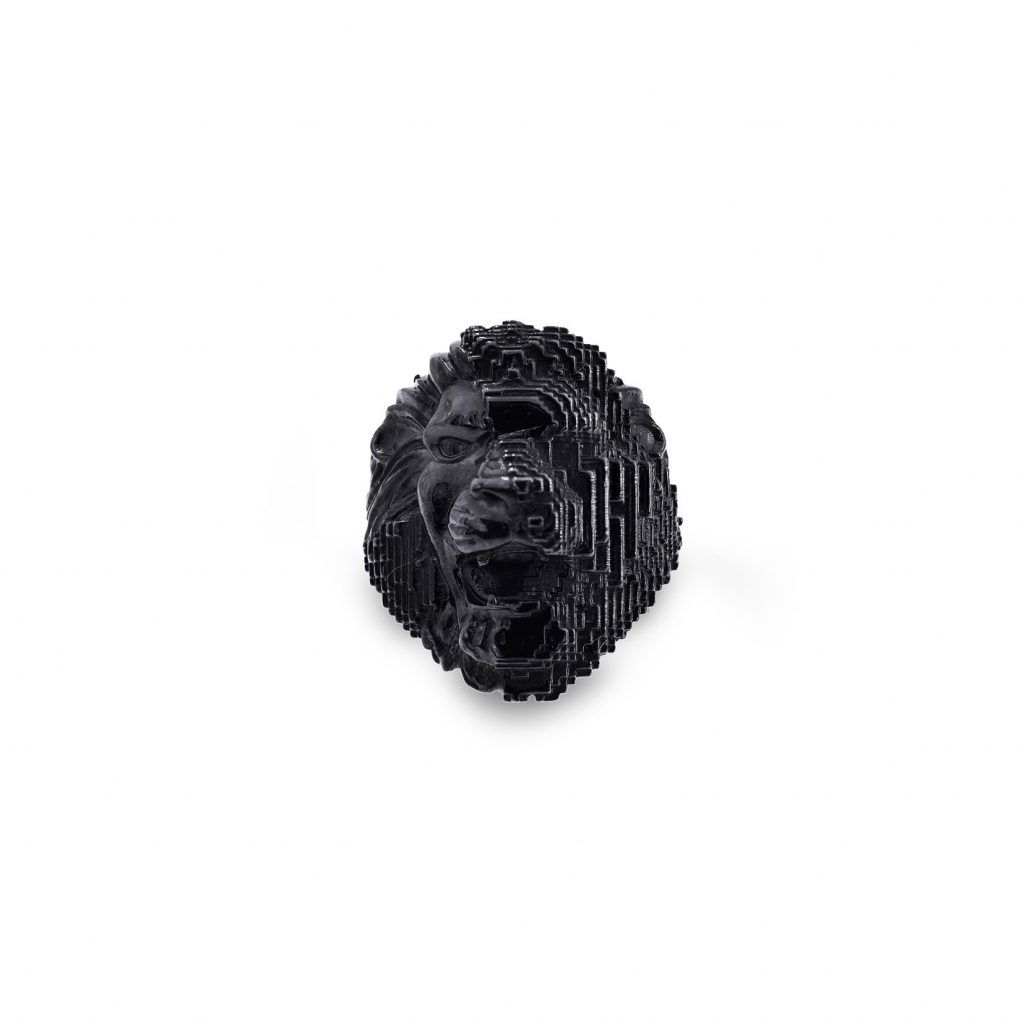 Black Lion Ring by Harriet Morris