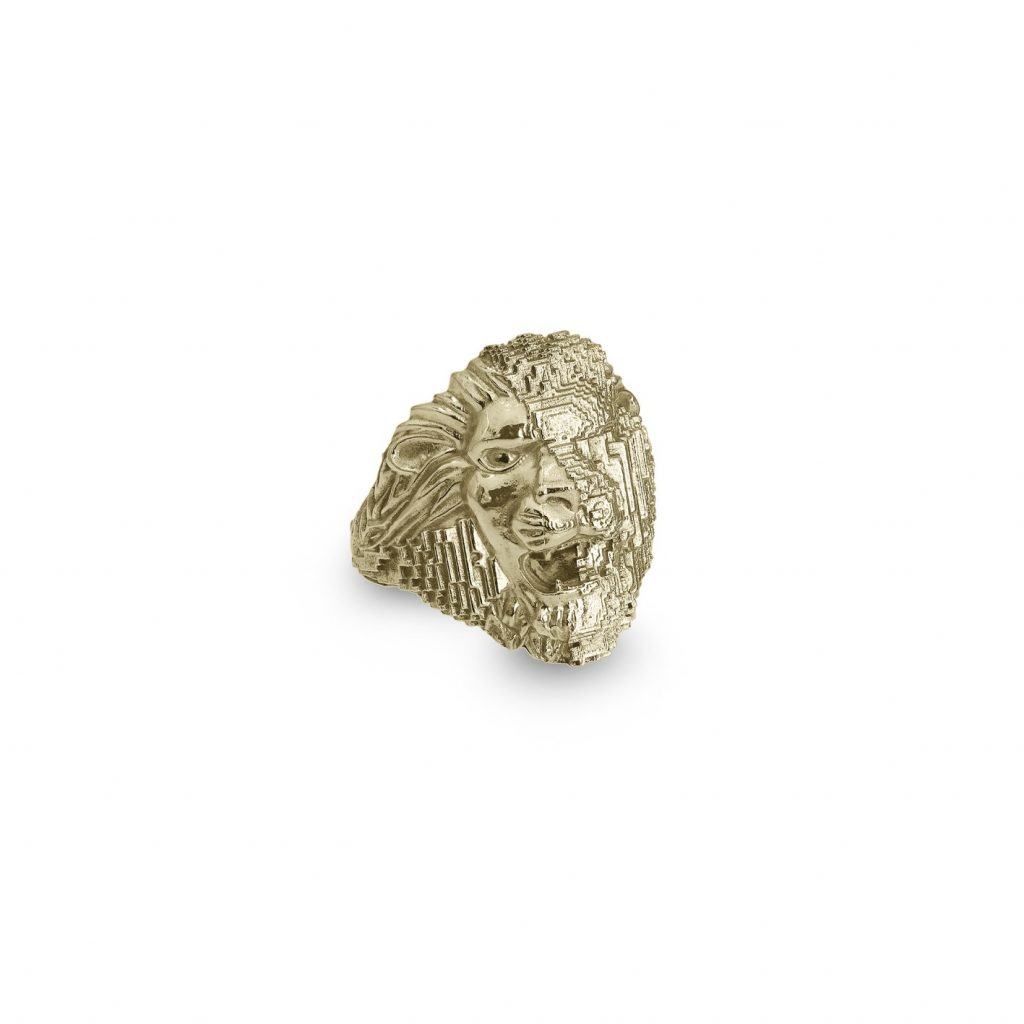 Lion Ring by Harriet Morris