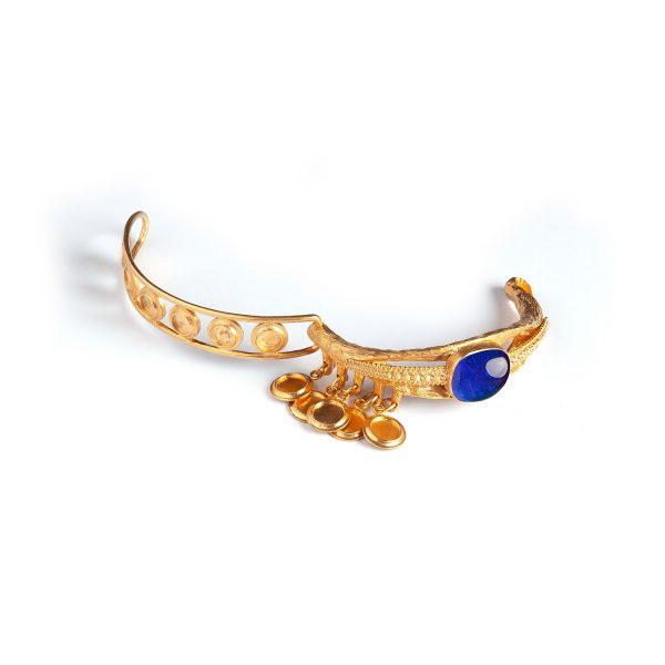 Eye Sapphire Bracelet by Sonia Petroff