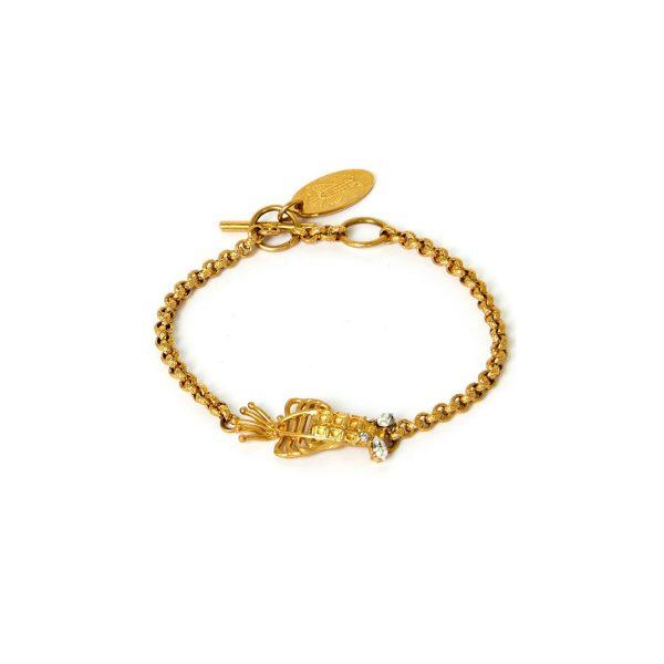 Lobster Bracelet by Sonia Petroff