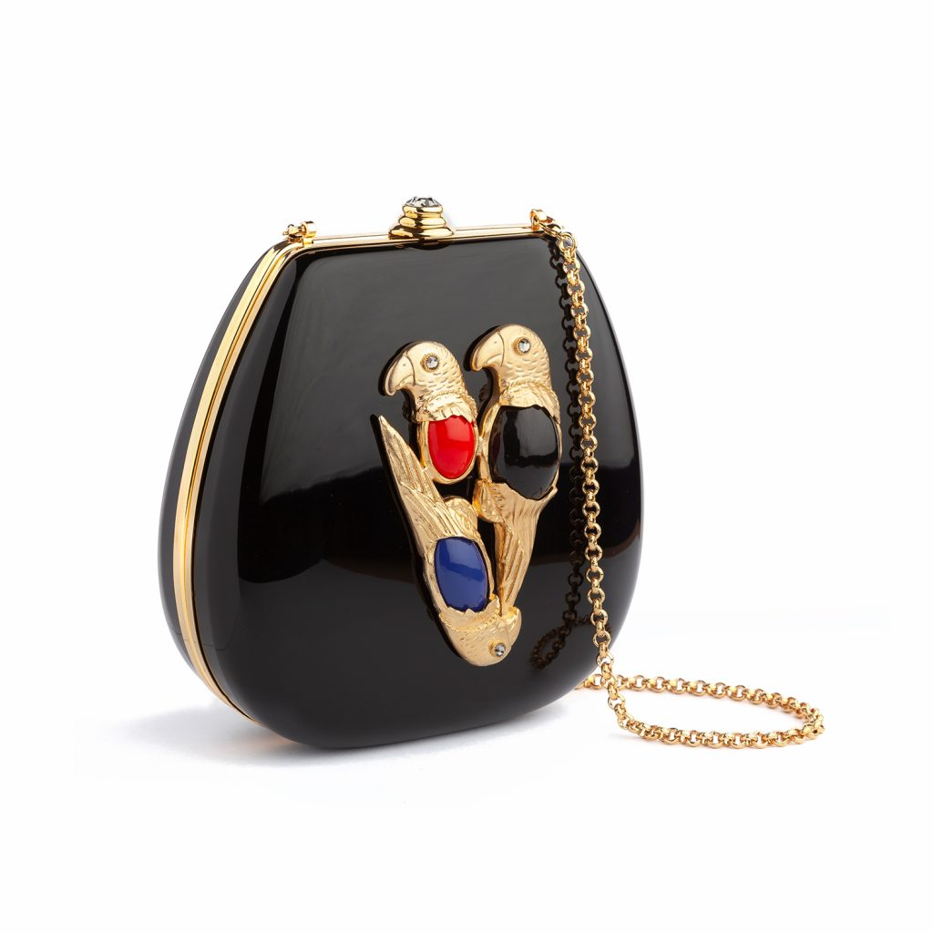 Parrot Black Bag by Sonia Petroff