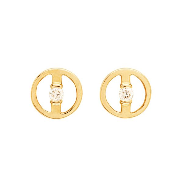 Harmonious Stud Earrings by Bliss Lau