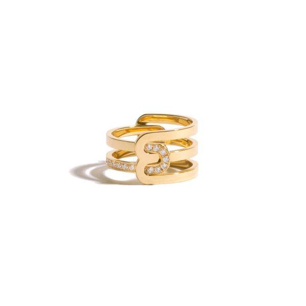 Étreintes Triple Ring by Jem
